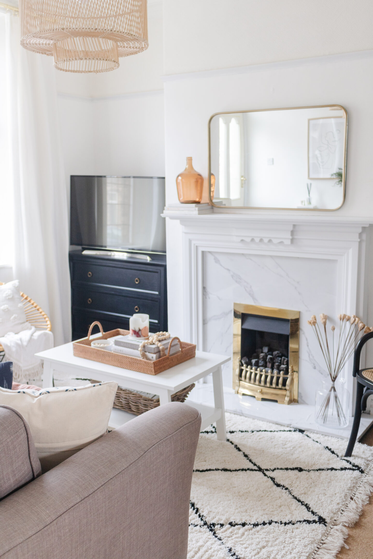 an edited lifestyle interiors home photoshoot ready