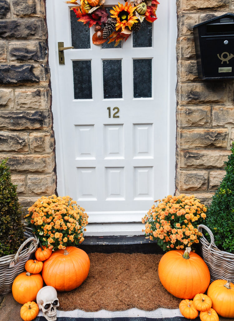 an edited lifestyle holidays autumn porch styling