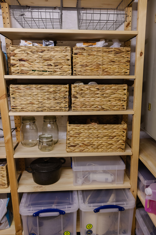 an edited lifestyle interiors basement organisation